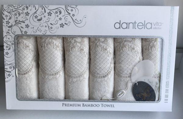 купить Набор полотенец Dantela Vita 1080 Кремовый фото