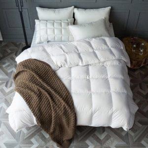 купить Одеяло Пуховое Prestij Textile Белый Белый фото 2