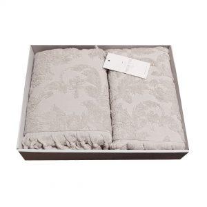 купить Набор полотенец Жаккард MAISON DOR SANDA BEIGE Бежевый фото 2