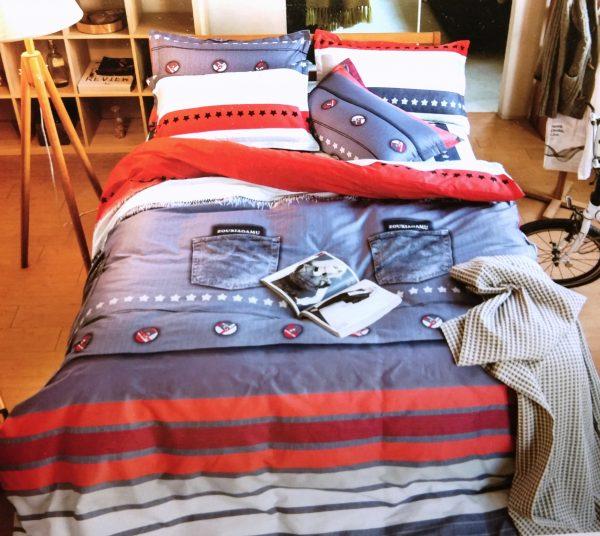 купить Постельное белье Сатин Люкс 40S 1607 Голубой фото
