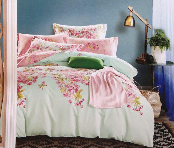 купить Постельное белье Сатин Люкс 40S 1608 Розовый фото
