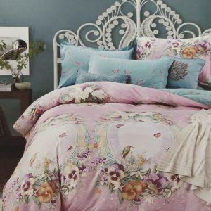купить Постельное белье Сатин Люкс 40S 1617 Розовый фото