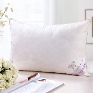 купить Подушка Шелк Prestij Textile Белый фото