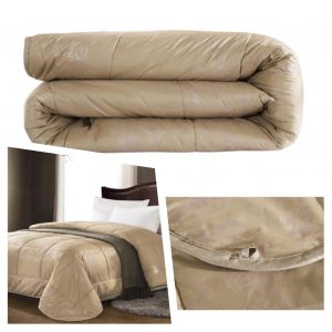 купить Одеяло Шерсть Верблюда Бежевый фото 2