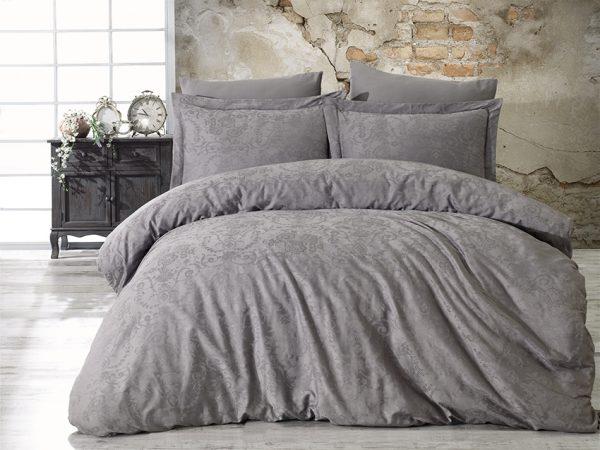 купить Постельное белье Жаккард Dantela Vita ANASTASIA grey Серый фото