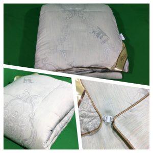 купить Одеяло бамбук Prestij Дубль Серый фото 2