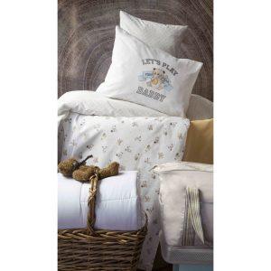 купить Детский набор в кроватку для младенцев Karaca Home - Cute Boy Bej 7 Предметов Бежевый фото
