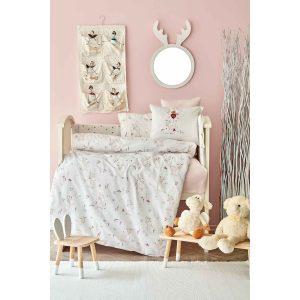 купить Детский набор в кроватку для младенцев Karaca Home - Doe Pembe 10 Предметов Бежевый фото