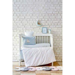 купить Детский набор в кроватку для младенцев Karaca Home - Dreamer Mint 7 Предметов Бежевый фото