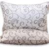купить Одеяло Eco-venzel и 2 подушки 70х70 Серый фото 100428