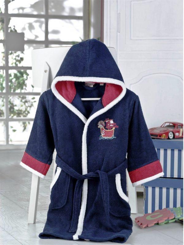 купить Детский халат Altinbasak для Мальчиков Pacific Синий фото