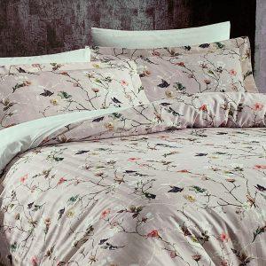 купить Постельное белье Maison Dor FLORA ROSE Бежевый фото 4