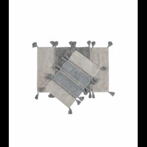 купить Набор ковриков Irya - Venus Gri Серый фото