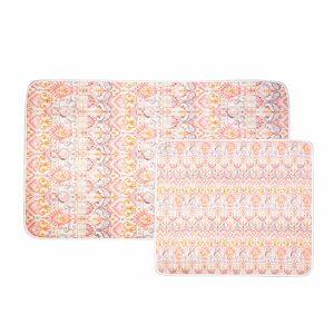 купить Набор ковриков Karaca Home - Marodisa Розовый фото