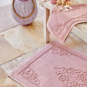 купить Набор ковриков Karaca Home - Milly Pudra Розовый фото
