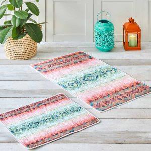 купить Набор ковриков Karaca Home - Rossi Розовый фото