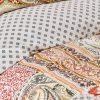 купить Постельное белье с пледом Karaca Home - Adonita Turuncu Оранжевый фото 102331