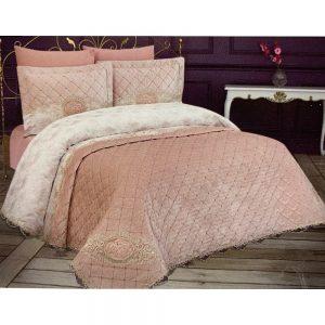 купить Покрывало Naturel FLORA PUDRA 6 Предметов Розовый фото