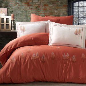 купить Постельное белье Pamira Brick Dantela Vita Оранжевый фото