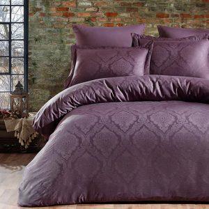 купить Постельное белье Жаккард Dantela Vita PARASHIE MRDUM Фиолетовый фото