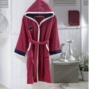 купить Детский халат Altinbasak для Девочек Pacific Розовый фото
