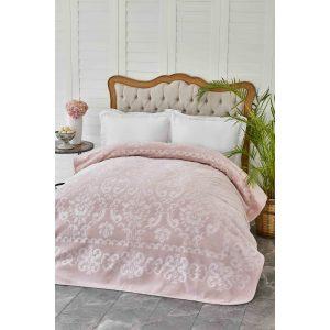 купить Плед Karaca Home - Rauqel Best Pudra Розовый фото