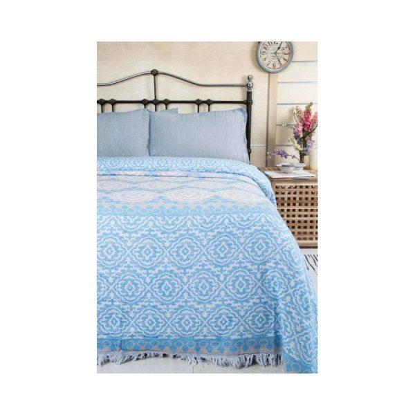 купить Покрывало Пике Irya - Lenna Голубой фото