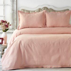 купить Покрывало с наволочками Karaca Home - Cally Yavru Agzi Розовый фото