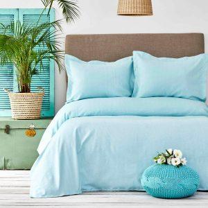 купить Покрывало с наволочками Karaca Home - Palvi Mint Голубой фото