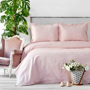 купить Покрывало с наволочками Karaca Home - Palvi Pudra Розовый фото