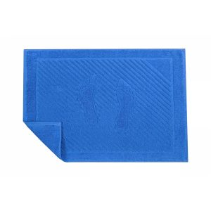 купить Полотенце для ног Iris Home - Palace Blue Голубой фото