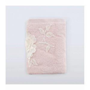 купить Полотенце Irya Wedding - Mimosa Pudra Розовый фото