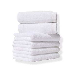 купить Полотенце Lotus Отель 450 г/м 20/2 Белый Белый фото