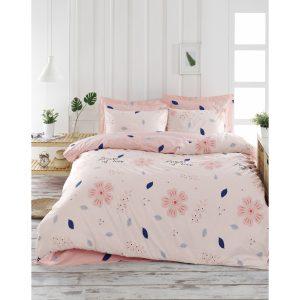 купить Постельное белье Lotus Home Perfect Ranforce - Flowers Розовый фото