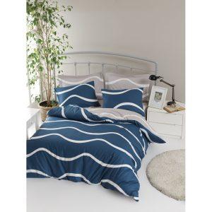 купить Постельное белье Lotus Home Perfect Ranforce - Nova blue Синий фото