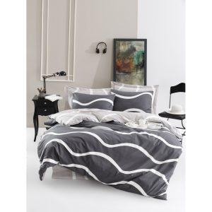 купить Постельное белье Lotus Home Perfect Ranforce - Nova Серый фото