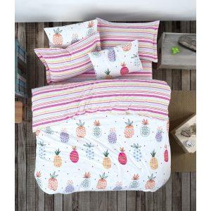 купить Постельное белье Lotus Home Perfect Ranforce - Pottik Розовый фото