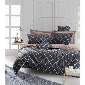 купить Постельное белье Lotus Home Perfect Ranforce - Ride Серый фото