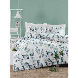 купить Постельное белье Lotus Home Perfect Ranforce - Sabine Зеленый фото