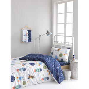купить Постельное белье Lotus Home Perfect Ranforce - Space Синий фото