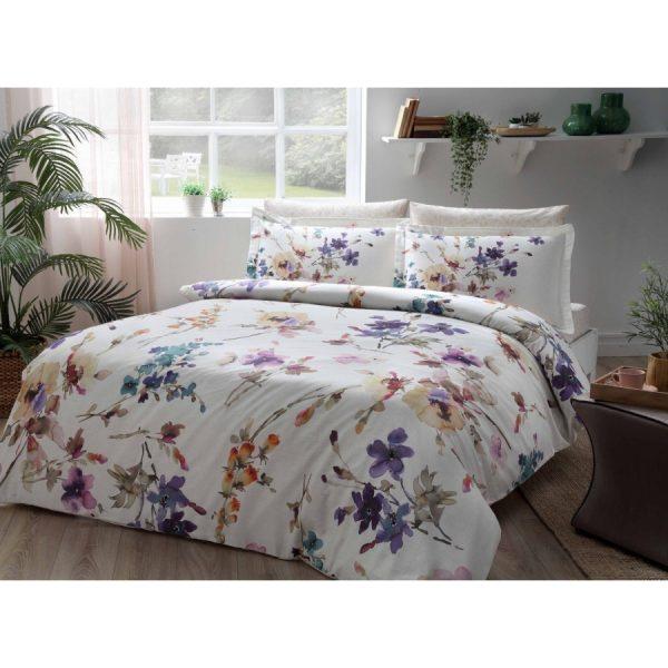купить Постельное белье TAC Сатин Digital - Lizzo Lil V01 Фиолетовый фото