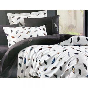 купить Постельное белье Maison Dor PULUME VOLANTE ANTRHACIT Серый фото 4