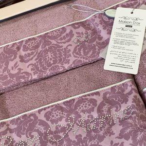 купить Набор бамбуковых полотенец Maison Dor ROSE MARINE LILAC 3 Лиловый фото 2
