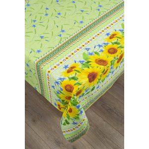 купить Скатерть Lotus - Sunflowers Зеленый фото