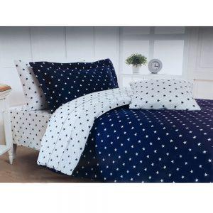 купить Постельное белье Maison Dor STARS NAVY Синий фото