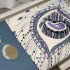 купить Постельное белье 3D Cатин - Dantela Vita VALENCIA Фиолетовый фото 101639