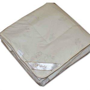 купить Одеяло Шерстяное беж Кремовый Кремовый фото 2