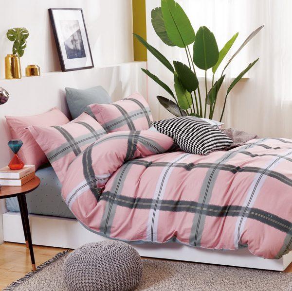 купить Постельное белье Bella Villa Сатин B-0288 Розовый фото