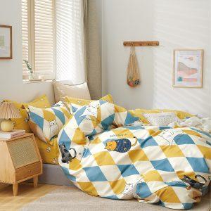 купить Постельное белье Bella Villa Сатин B-0296 Желтый фото