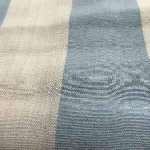 купить Простынь лен 38991 Голубой фото